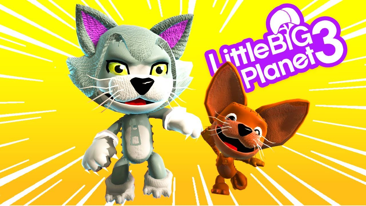 Tom & Jerry Plays Sound Town - LittleBigPlanet 3 PS4 Gameplay