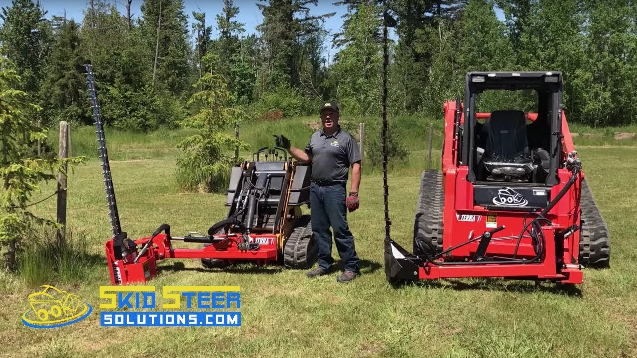 Eterra Sickle Bar Mower for Skid Steer and Mini Skid Steer Loaders -  Product Overview