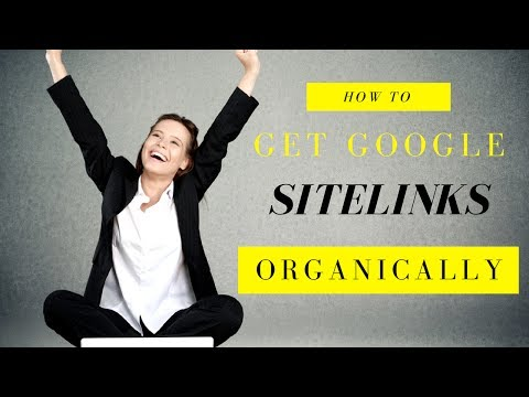 How to get Google Sitelinks ORGANICALLY [Steps] | 2017 Lori Ballen SEO