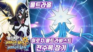 포켓몬스터 울트라 썬 문 공략 - 이로치 울트라비스트 전수목 잡는법 (포켓몬스터 울트라썬문 공략 / Pokémon Ultra Sun·Moon)