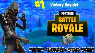 *NEW* CLOAKED STAR SKIN//PLAYING WITH FANS//PRO PLAYER: FORTNITE BATTLE ROYALE (LIVE)