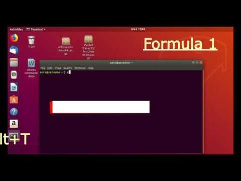 Hot to Extract tar.gz file Using Command in Ubuntu [Zero One]