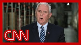 Pence blames China and CDC for any delay in Covid-19 response