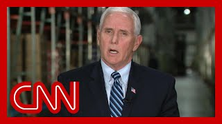 Gambar cover Pence blames China and CDC for any delay in Covid-19 response