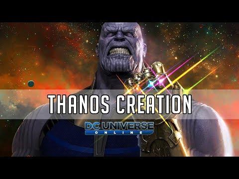 Thanos Recreation - DC Universe Online Character Customization