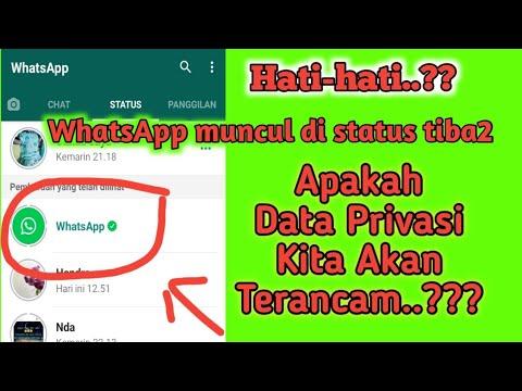 Trending WhatsApp tiba
