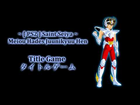 ☆ Ps2 Saint Seiya Meiou Hades Juunikyuu Hen ~ Title Game / タイトルゲーム