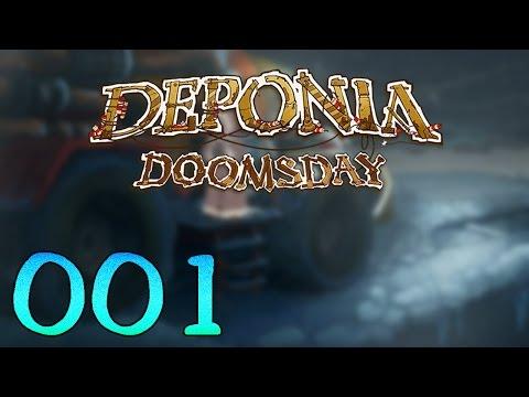 Let's play Deponia Doomsday [1] [HD] - Zurück im Schrott!