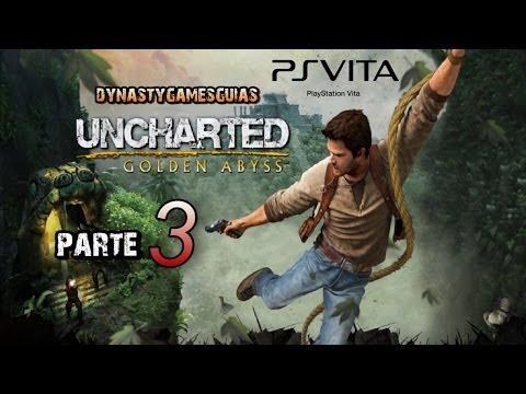 Uncharted El abismo de Oro PS Vita Let's play parte 3-Primeros minutos toma de contacto-Español