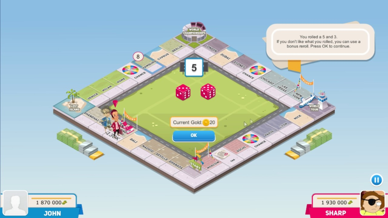 Business Tour Online Multiplayer Board Game Pc Tutorial Youtube