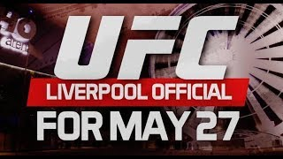 UFC Liverpool Announced By Darren Till And Dan Hardy l UFC London