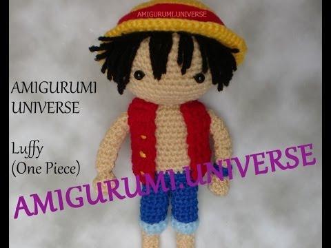 DIY Luffy! (One Piece) Tutorial Amigurumi.Universe. Part 1 - YouTube
