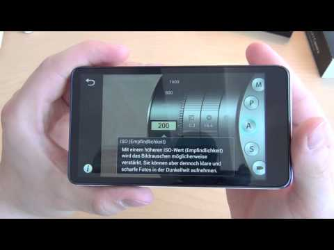 Samsung Galaxy Camera - Unboxing & Review (deutsch)