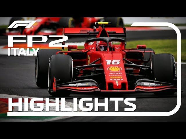 2019 Italian Grand Prix: FP2 Highlights