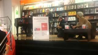 Franco Battiato unplugged @LaFeltrinelli Roma Martedì 17 11 2015
