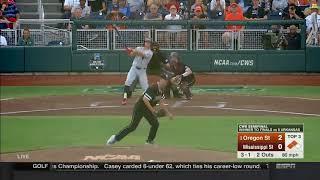 Oregon State Baseball Highlights: 6/23/18 vs. Mississippi State