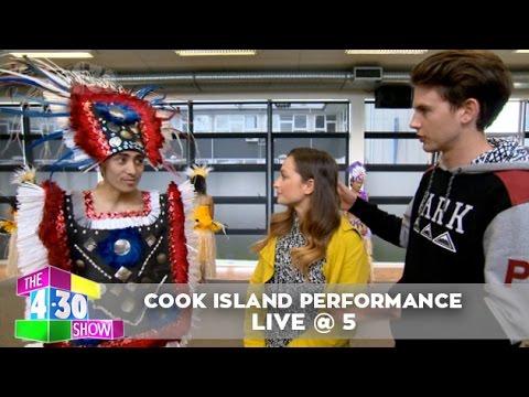 Cook Island Dancing - Live @ 5