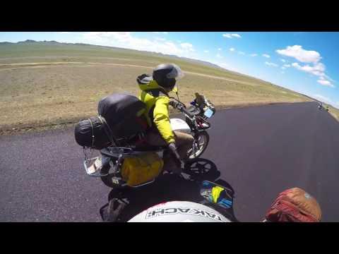 Mongolia motorcycle trip