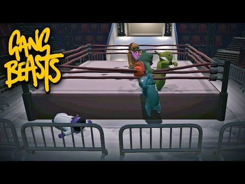 Gang Beasts Multiplayer #1 - Not Letting Go
