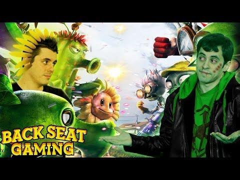 PLANTS DEVOUR ZOMBIE CRACK (Backseat Gaming)