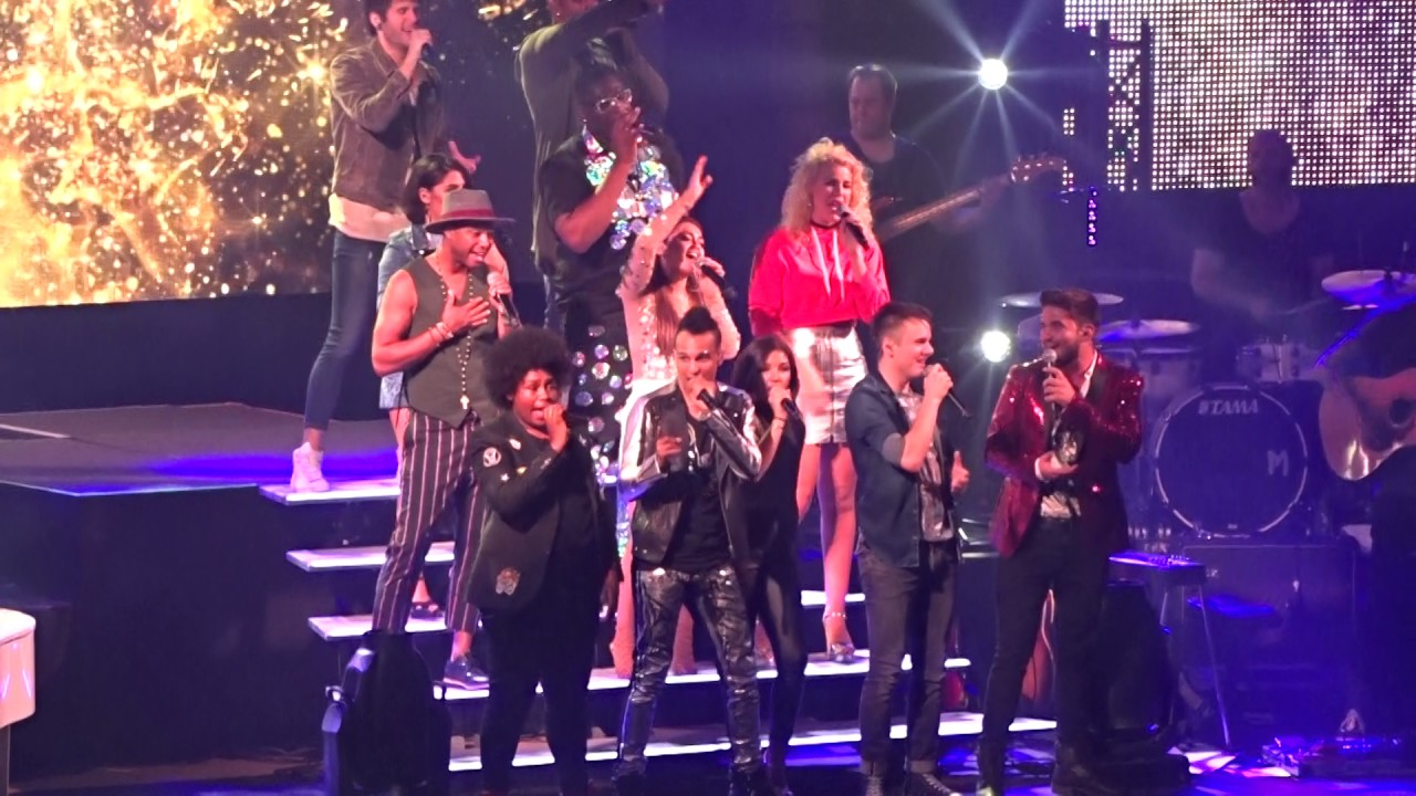 Dsds Tour 2017 Live At Arena Kreis Düren We Have A Dream Dieter
