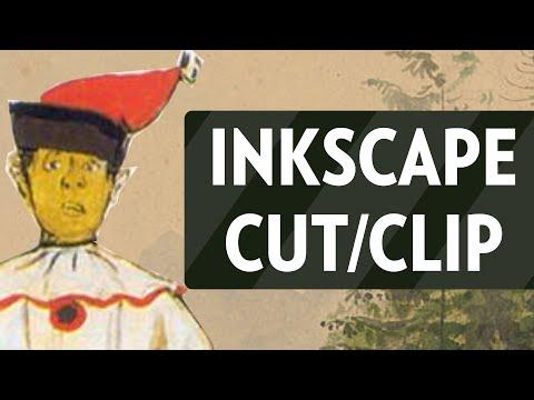 Inkscape Crop/Cut Out Image Tutorial