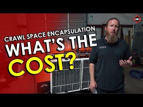 Crawl Space Encapsulation Costs | Crawl Space Encapsulation Repair Cost | CrawlSpace Ninja Knoxville