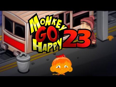 """Игра """"Счастливая Обезьянка 23"""" (Monkey GO Happy 23) - прохождение"""
