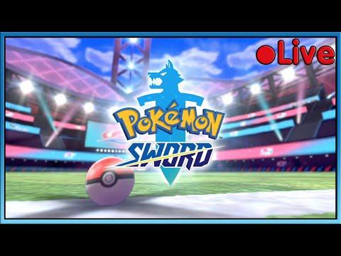 Pokemon Sword - Battle With Squid! - 🔴 Live