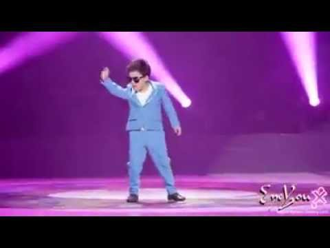 Gangnam Style Open Stage Performance by Young Boy