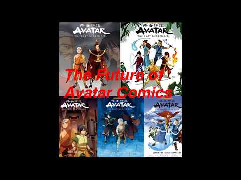 The Future of Avatar: The Last Airbender Comics