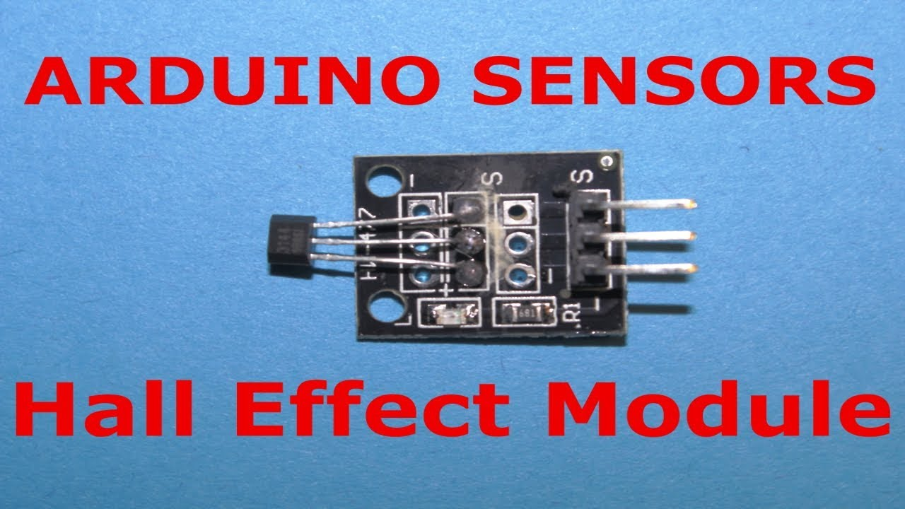 Arduino sensors: Hall effect sensor module