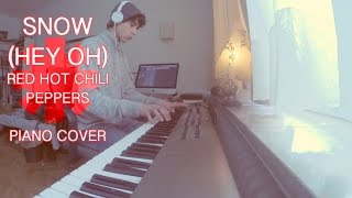 Snow (Hey Oh) (Red Hot Chili Peppers) Piano Cover