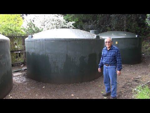 15,000 Gallon Rainwater Harvesting System