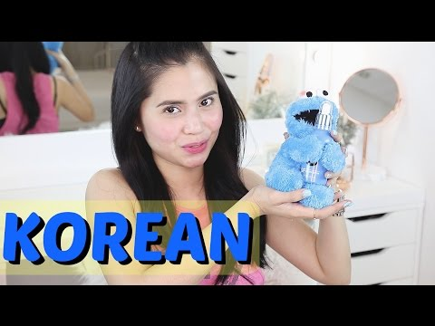 KOREAN Makeup & Skincare Haul | Anna Cay ♥