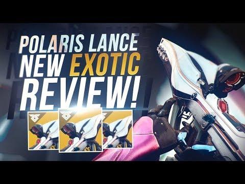 Destiny 2: New Polaris Lance Exotic Review! (PVE MONSTER)