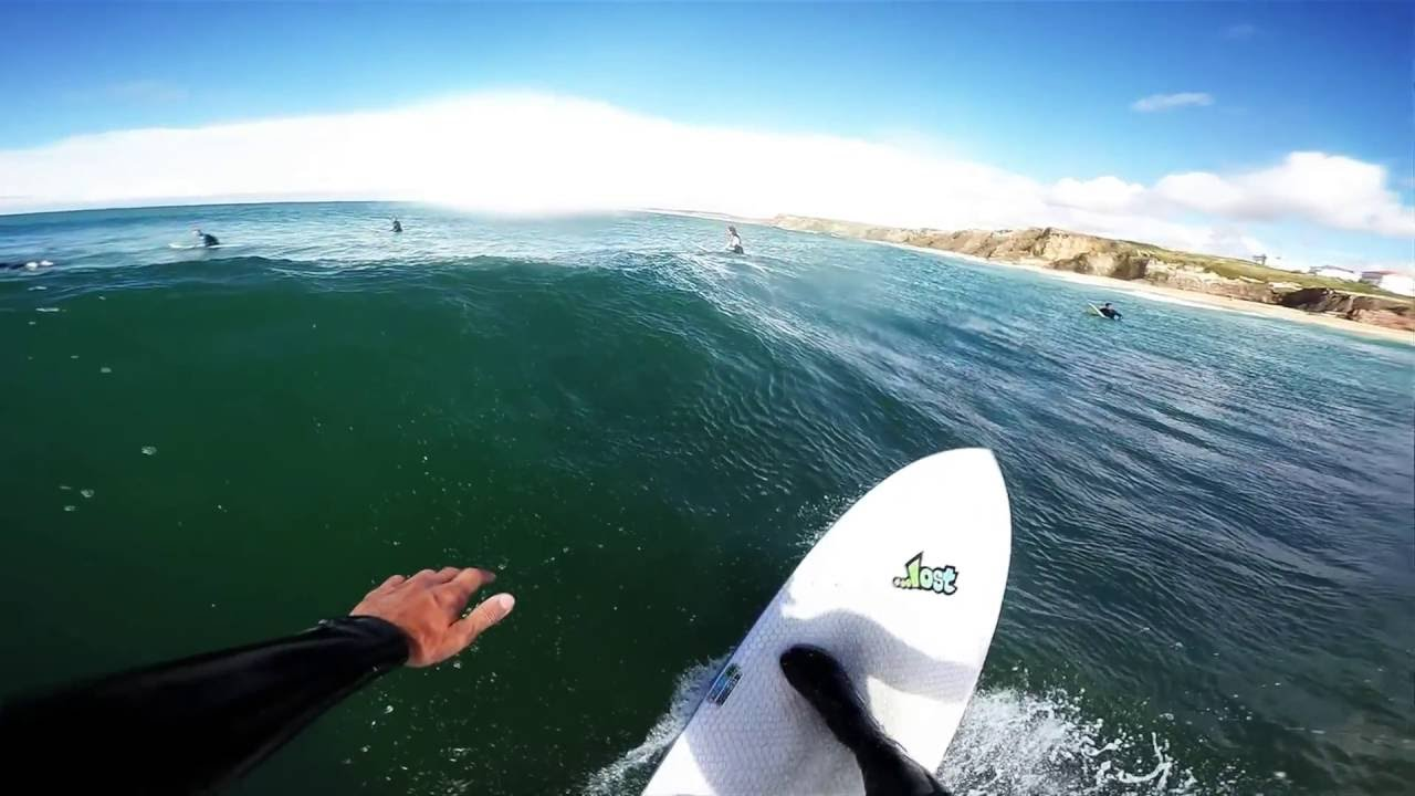 lib tech lost puddle jumper 5.9 - lagide reef moments - youtube