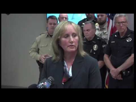 Oklahoma Highway Patrol Press conference.