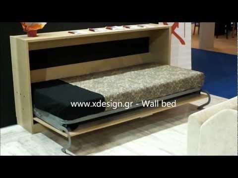 Xdesign - Wall Bed - Κρεβάτι τοίχου