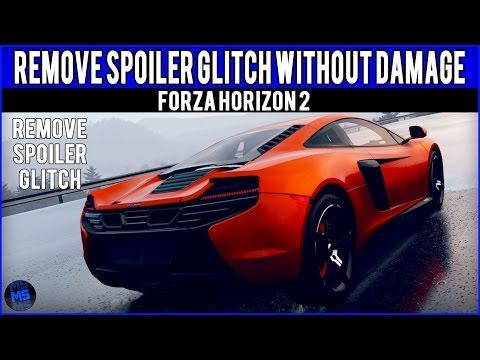 Remove spoiler glitch - Forza Horizon 2 -Remove Spoiler Without Damage Tutorial