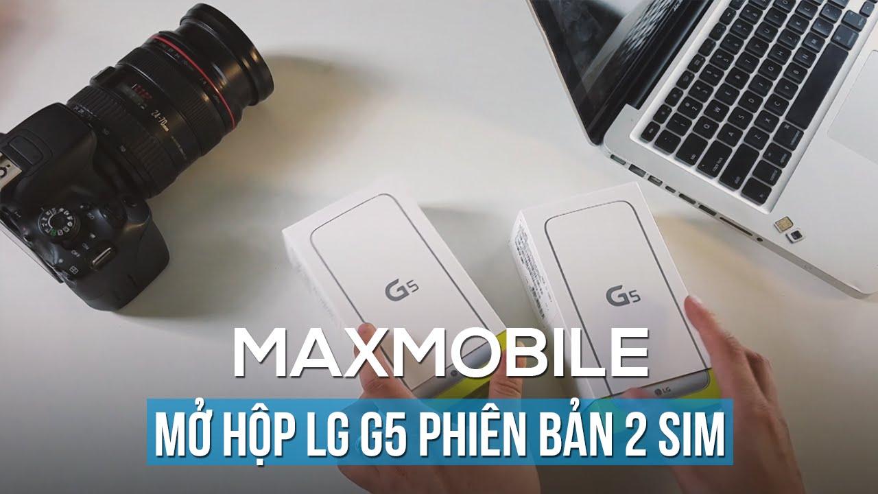 Mở hộp LG G5 phiên bản 2 sim: Không thể đổi module nếu máy khác tên mã!