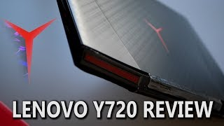 lenovo Y720 Review - GTX 1060 Fast Gaming Laptop!