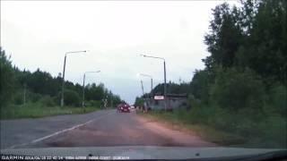 Стриптиз на дороге