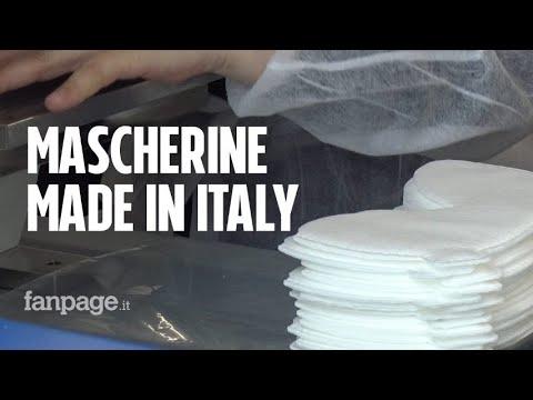 """Coronavirus, nell'unica fabbrica di mascherine Ffp3 in Italia: """"Le stiamo facendo riutilizzabili"""""""