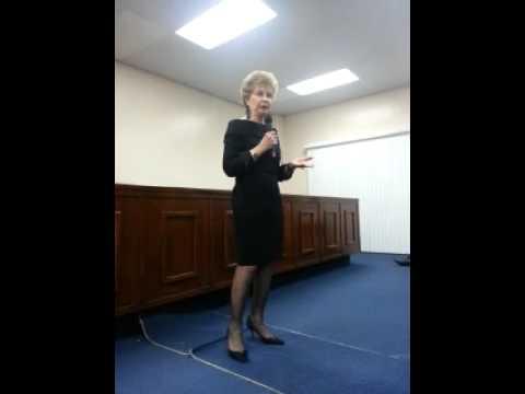 Congesswoman Madeleine Bordallo addresses Guam Democrats