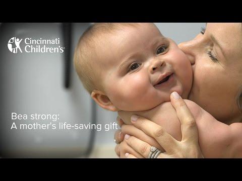 Liver Transplant: Living donor, a Mother's Life-Saving Gift   Cincinnati Children's