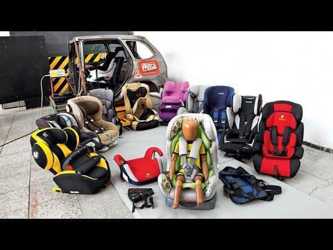Супертест: 13 детских кресел и 3 удерживающих устройства