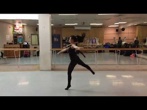 skill acquisition- split leap by Tyler Smith and Mackenzie Lau