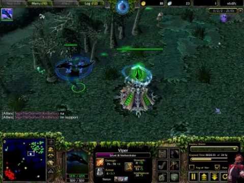 Me Playing Dota On Warcraft Iii Frozen Throne Youtube