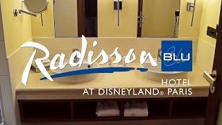 radisson blu hotel at disneyland paris tour of a standard room partner hotel full hd video